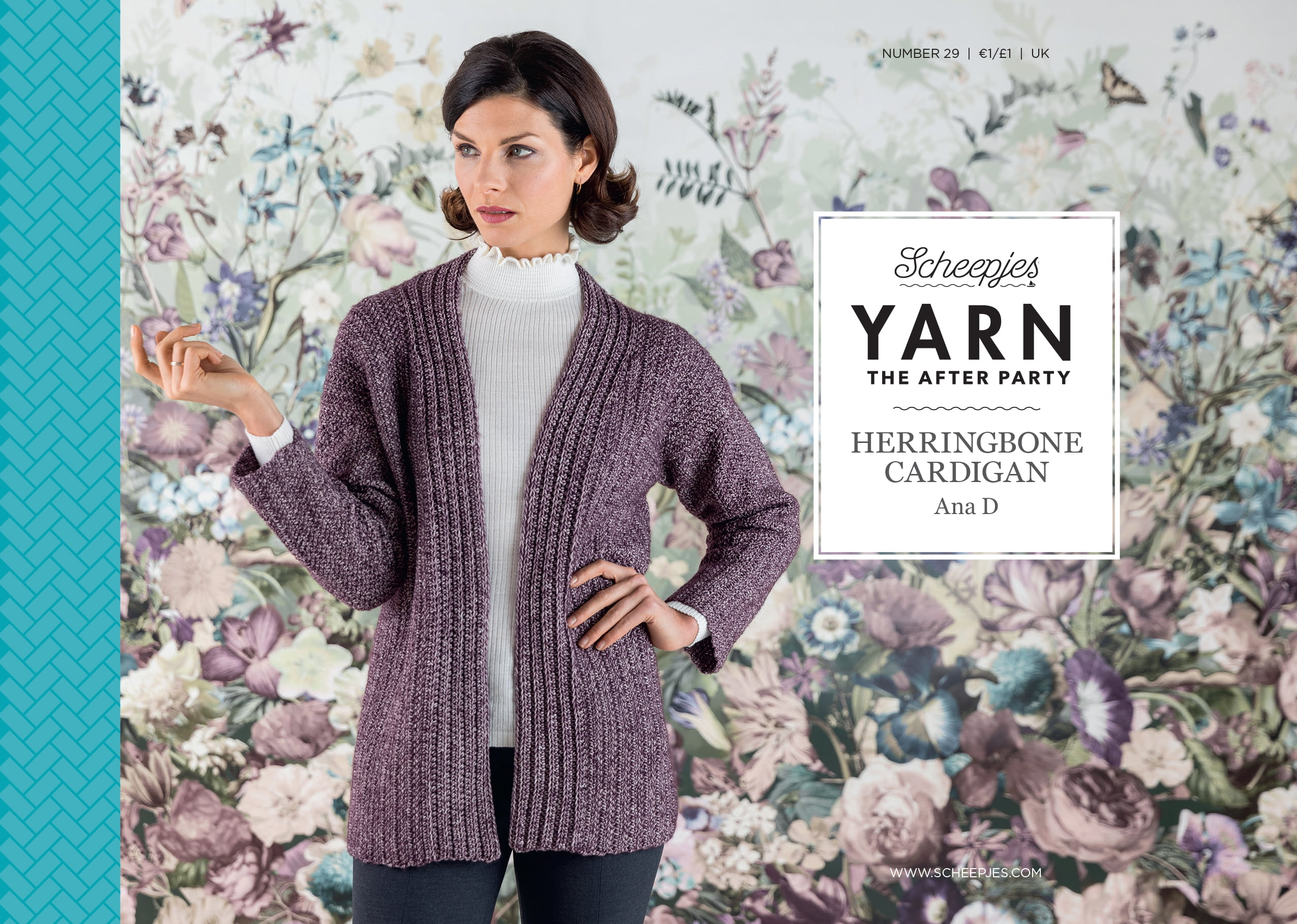 Yarn The After Party Hæfte NO.29 Herringbone Cardigan